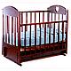 Ведрус Кроватка детская Иришка 3 (ящик, маятник, накладка), фото 3