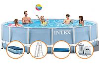 Каркасный бассейн Intex 732*132см