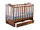 Ведрус Кроватка детская Лана 3 (ящик, маятник, накладка сердечко), фото 3