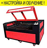 Лазерный станок для наружной рекламы с ЧПУ 1600*900мм RECI 90W для резки, гравировки, раскроя, фото 1