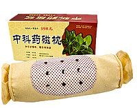Подушка валик травяная турмалиновая для шеи