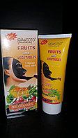 Маска пленка  с фруктами и овощами - Qiansoto ( 150 мг )
