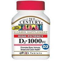 Витамин D3 1000 сильное действие для усвоения кальция 110 таблеток