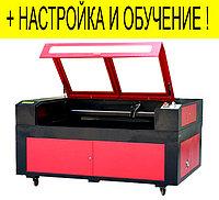 Лазерный станок для пластика, дерева с ЧПУ 1400*900мм RECI 90W для резки, гравировки, раскроя