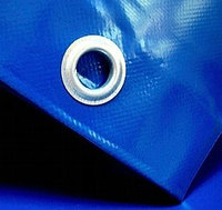 Полог из ПВХ материала 6 х 8 м, с люверсами 500 г/м2