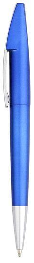 Ручка шариковая пластиковая, синяя