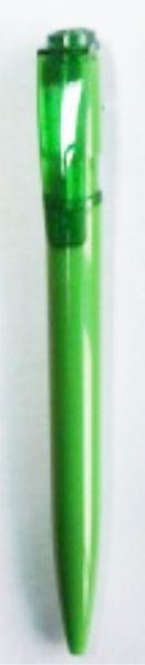 Ручка шариковая пластиковая зеленая