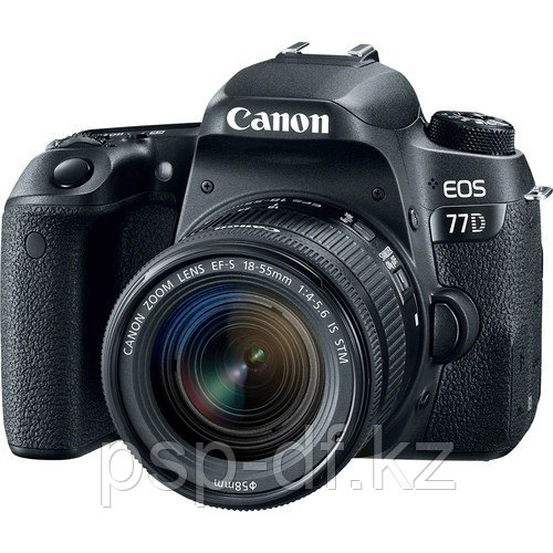 Фотоаппарат Canon EOS 77D kit 18-55mm f/4-5.6 IS STM гарантия 1 год