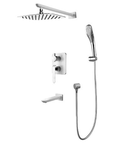 Смеситель для ванны и душа встраиваемый LeMark Серия MELANGE LM4922CW