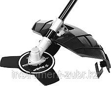 Триммер электрический (электрокоса), ЗУБР ЗКРЭ-38-1200, с верх. двигателем, полуавтомат, 1200 Вт, фото 3