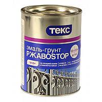 Эмаль-Грунт алкидная по ржавчине РжавоStop Белая 0,9 кг
