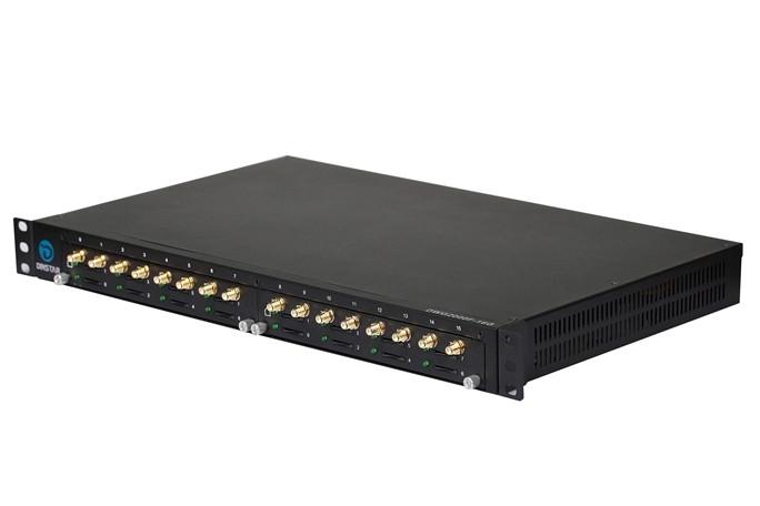 GSM VoIP шлюз Dinstar  DWG2000F-16G-B