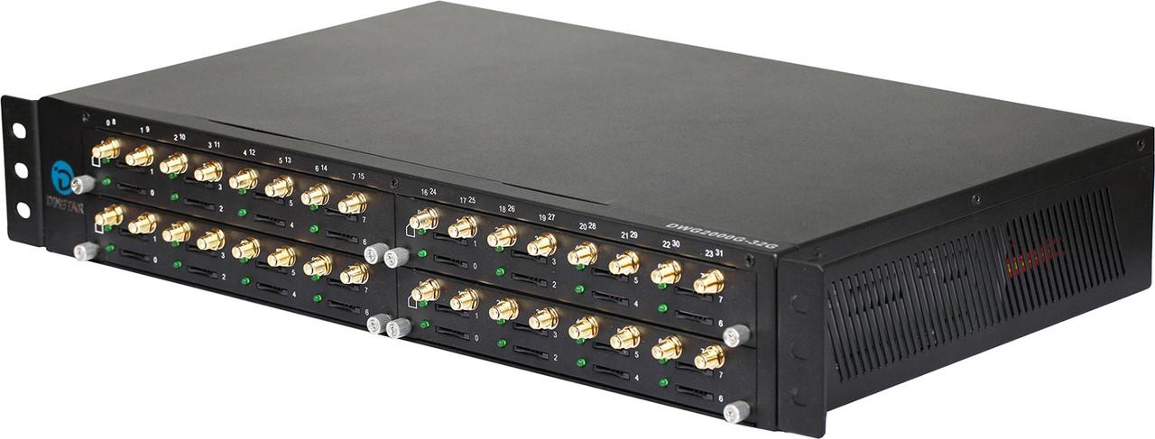 GSM VoIP шлюз Dinstar  DWG2000G-32G-B
