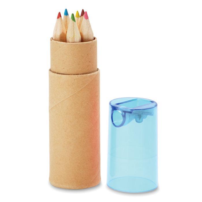 Набор 6 деревянных карандашей