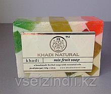 Мыло Фруктовый Микс (Mix Fruit KHADI), 125 гр