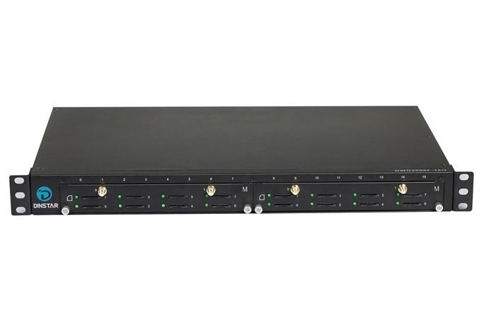GSM VoIP шлюз Dinstar  DWG2000F-16G-M-B