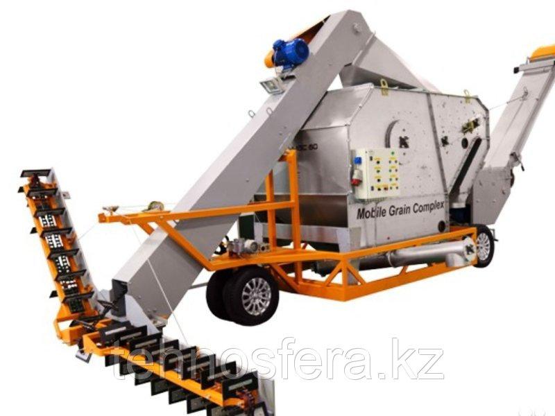 Передвижное зерноочистительное устройство ALFA-MGC