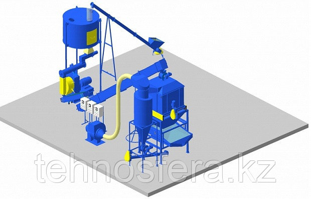 Цех производства гранулированного комбикорма (ЛГ)