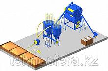 Цех производства рассыпного комбикорма высокой однородности (КВО)