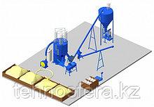 Цех производства рассыпного комбикорма с участком гранулирования (ККС)
