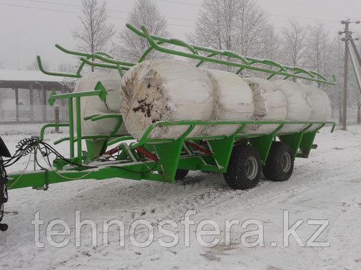 Самозагрузочная телега для перевозки рулонов ТР-10