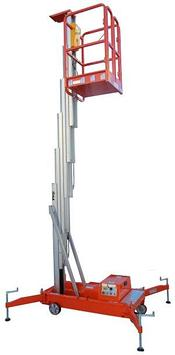 Подъемник телескопический (подъемник мачтовый) 6 м 125 кг