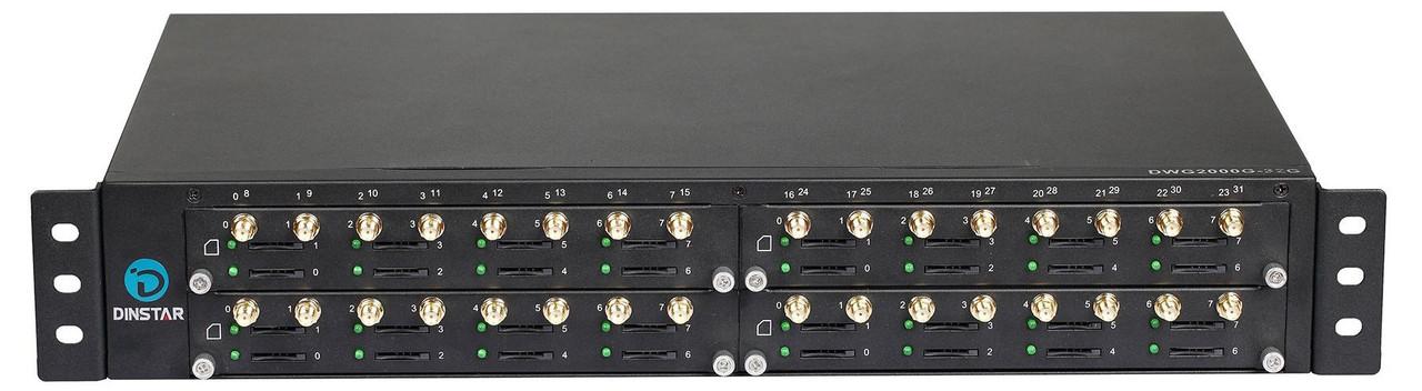 GSM VoIP шлюз Dinstar  DWG2000G-32W