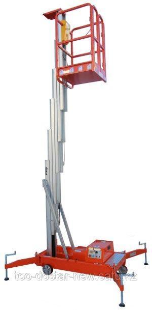 Подъемник телескопический (подъемник мачтовый, персональный) 9 м 125 кг