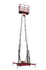 Подъемник телескопический (подъемник мачтовый) 9 м 200 кг