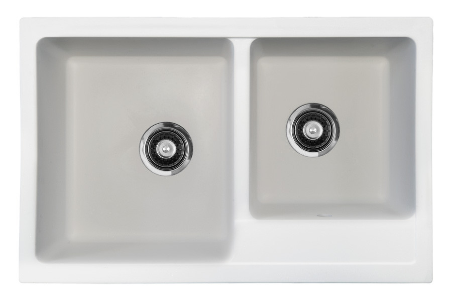 Кухонная мойка из кварца  ORIVEL Quadro plus 2D (780 x 500 мм)