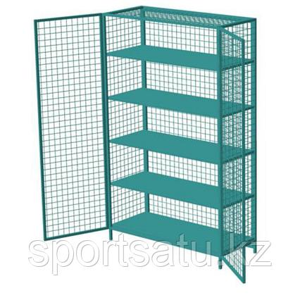Шкаф для спортивного инвентаря 140х220х60