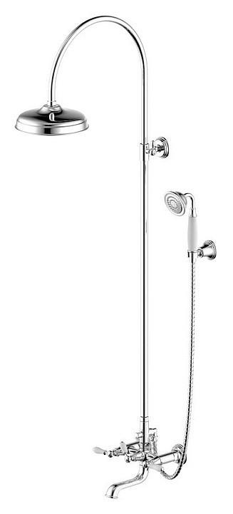 Душевая колонна со смесителем для ванны/хром Bravat Art  F65193СP-A1-RUS