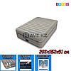 Двухспальный надувной матрас Intex 64446, размер 203х152х51 см