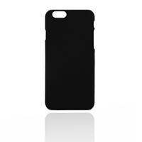 Черный чехол для iPhone 6/6s (soft touch)