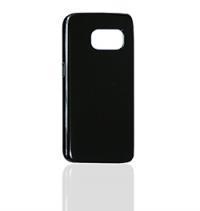 Черный чехол для Samsung Galaxy S7 Edge (глянцевый)