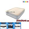 Двухспальный надувной матрас Intex 67486, размер 203x152x46 см