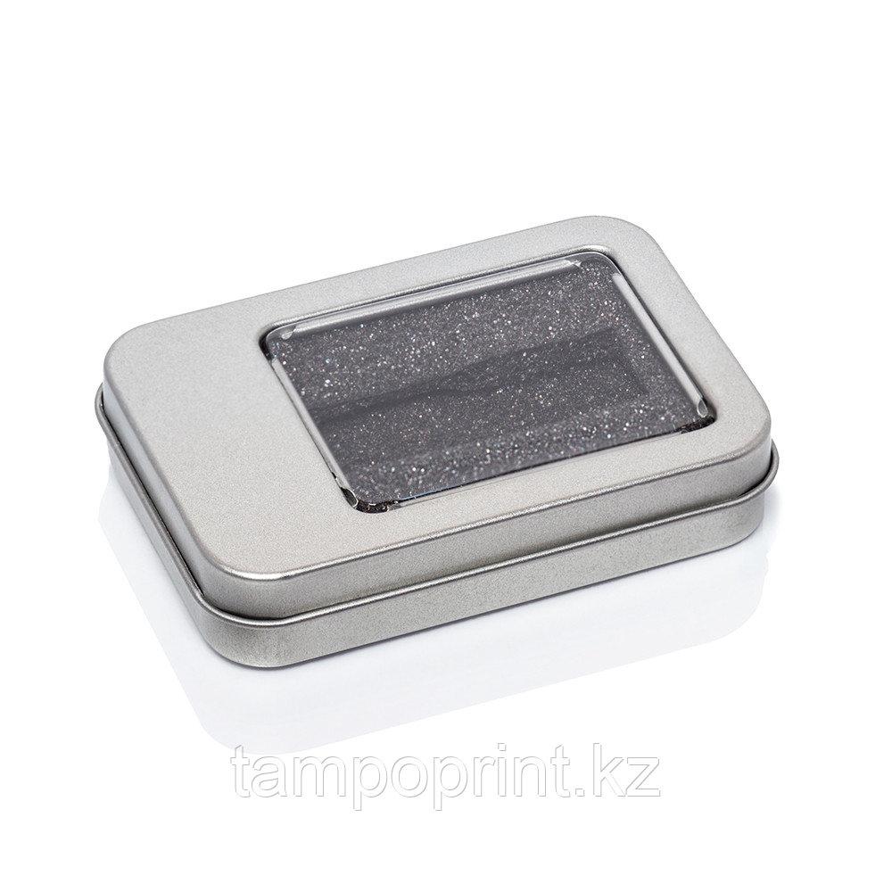 U-PK012 (метал.коробка) НЕОБХОДИМО ВЫРЕЗАТЬ ЛОЖЕМЕНТ серебро