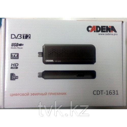 Цифровой эфирный приемник CADENA CDT-1631 DVB-T2