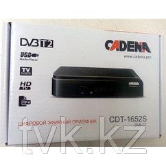 Цифровой эфирный приемник CADENA CDT-1652S DVB-T2