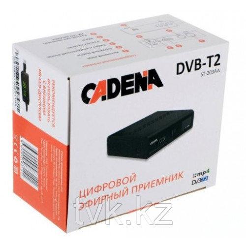 Цифровой эфирный приемник CADENA ST-203AA DVB-T2
