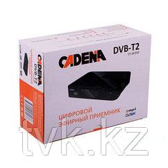 Цифровой эфирный приемник CADENA ST-603AD DVB-T2