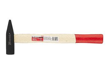(10233) Молоток слесарный, 600 г, квадратный боек, деревянная рукоятка// MATRIX