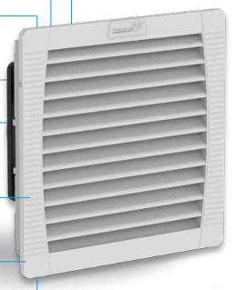 Вентиляторы с фильтром для помещений IP 54