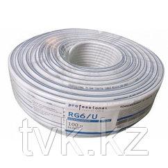 Морозостойки ТВ кабель RG/6U professional 100 м