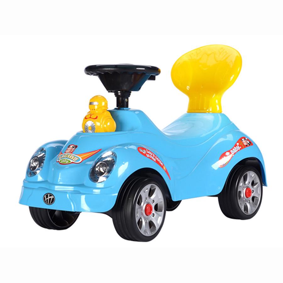 Каталка Toysmax Утенок голубая