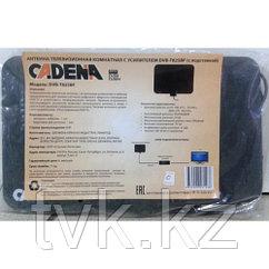 Антенна телевизионная комнатная с усилителем Cadena DVB-T825BF (с подставкой)