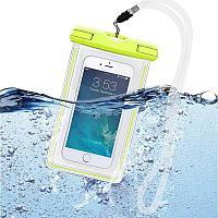 Универсальный светящийся в темноте водонепроницаемый футляр для iPhone 7 6 5 S для Samsung