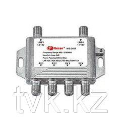 Мультисвитч радиальный Gesen 2x4 MS-2401