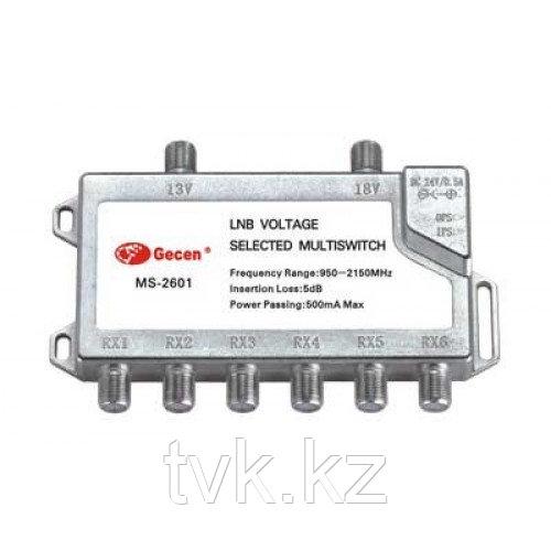 Мультисвитч радиальный Gesen 2x6 MS-2601