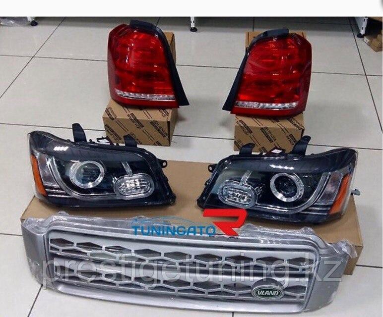 Тюнинг комплект на Highlander 2000-08 в стиле Land Rover
